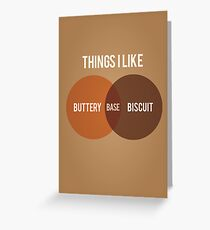 Buttery Biscuit Base Greeting Card