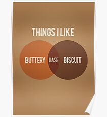 Buttery Biscuit Base Poster