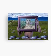 Flying Fish (Magritte) Canvas Print