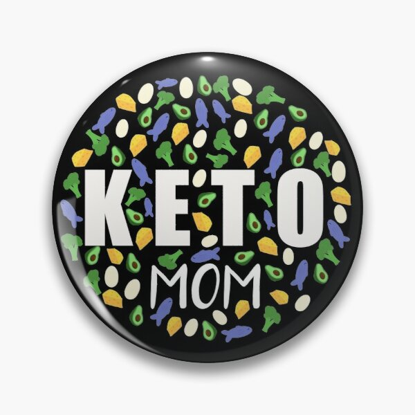 Keto Mom Collage Design - Weight Loss and Dieting Food Pin