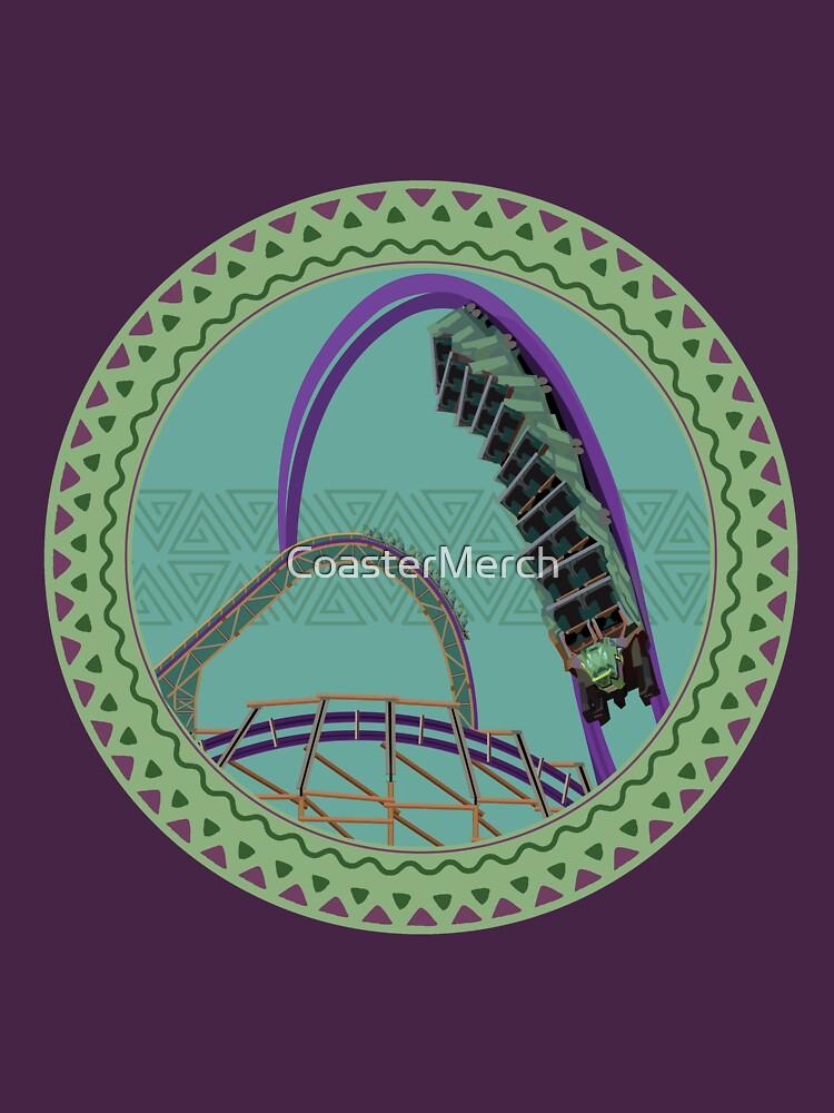 Iron Gwazi Death Roll Design by CoasterMerch