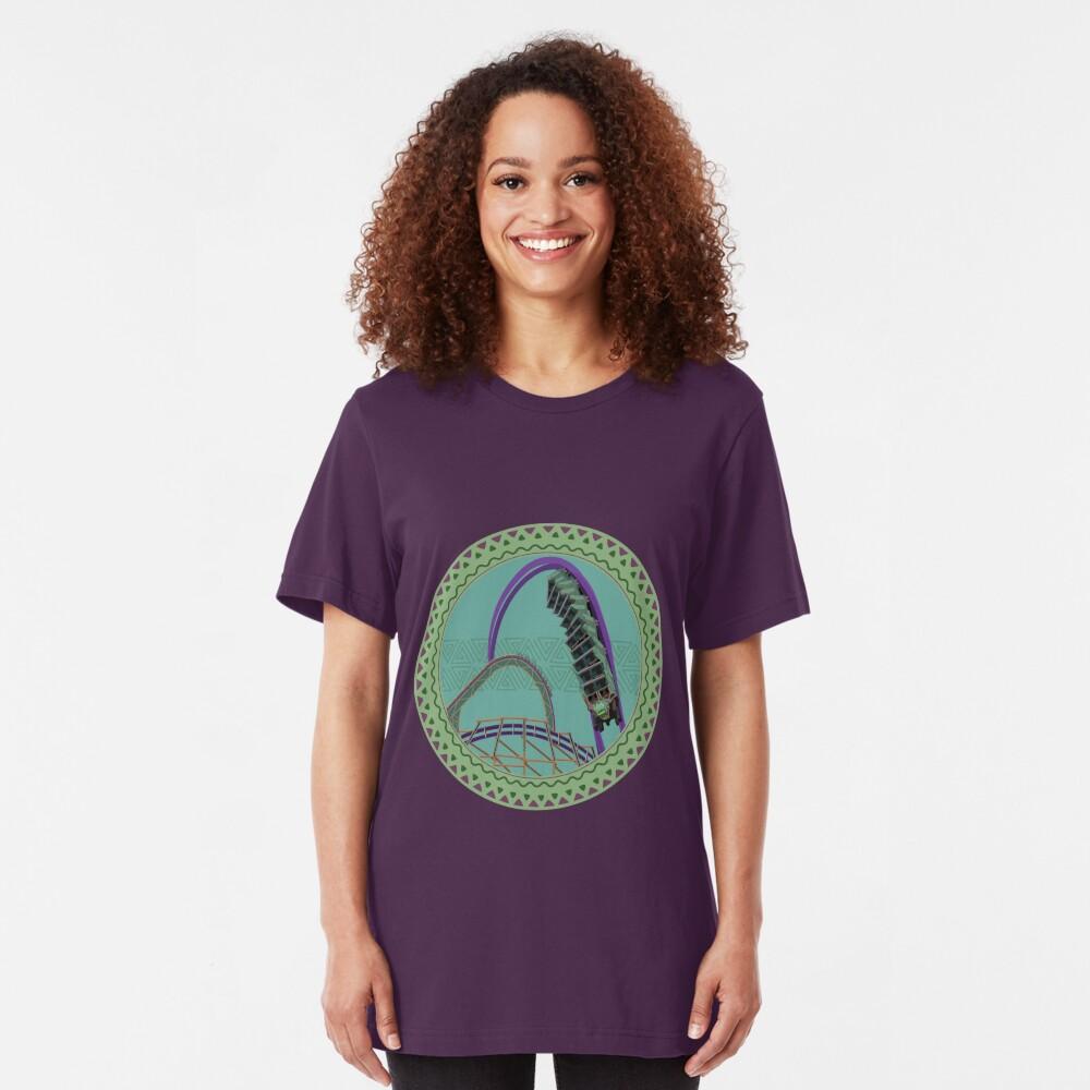 Iron Gwazi Death Roll Design Slim Fit T-Shirt
