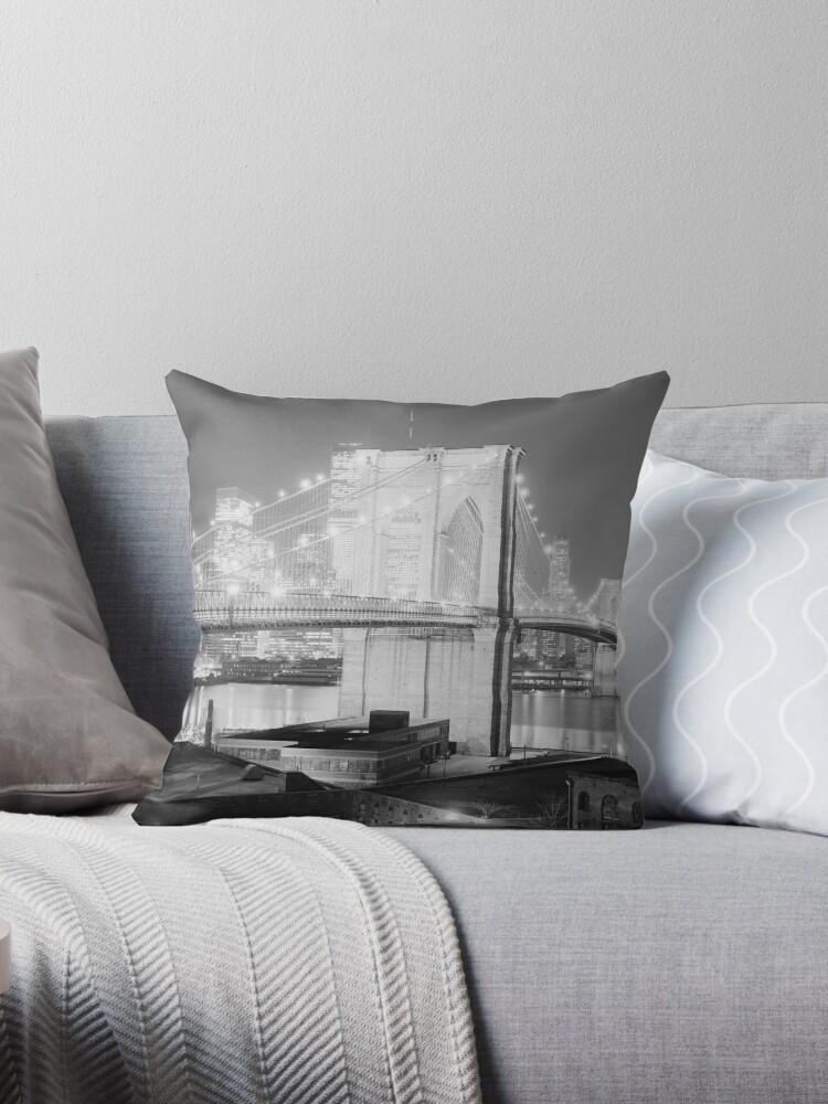 «Brooklyn Bridge Black & White» de BravuraMedia