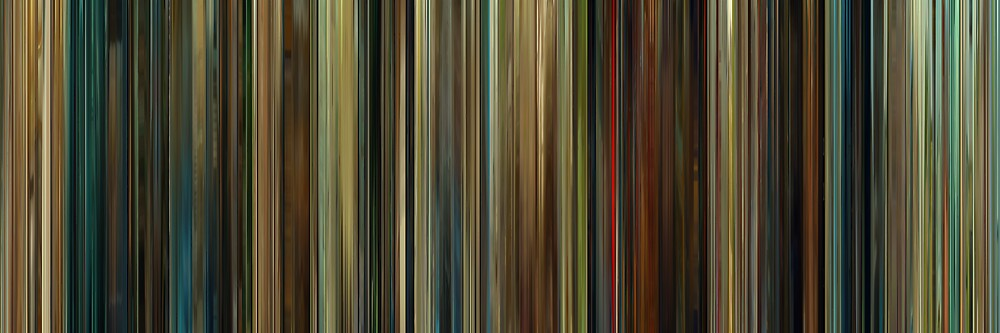 Moviebarcode: Wild Grass / Les herbes folles (2009) by moviebarcode
