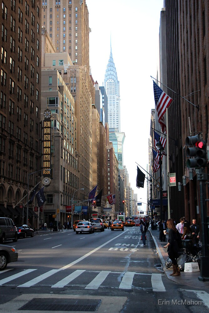 Lexington Ave - New York - United States by Erin McMahon