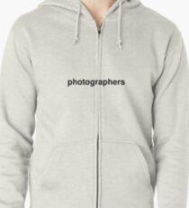 photographers Zipped Hoodie