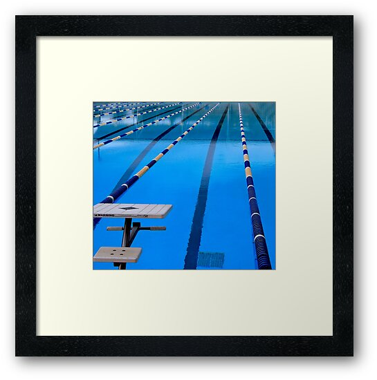 Swimming Pool - Blue & Cool by Buckwhite