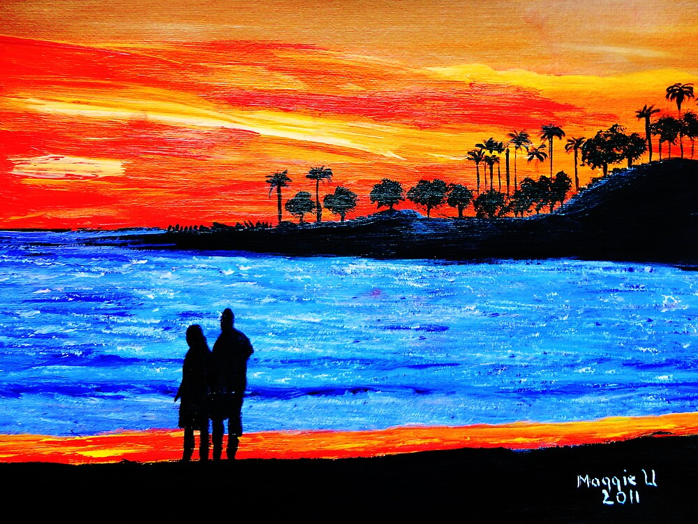 Sunset Silhouette by maggie326