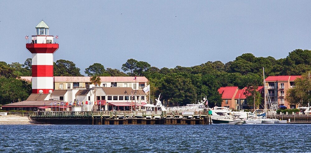 Harbor Town on Hilton Head Island by jimcrotty