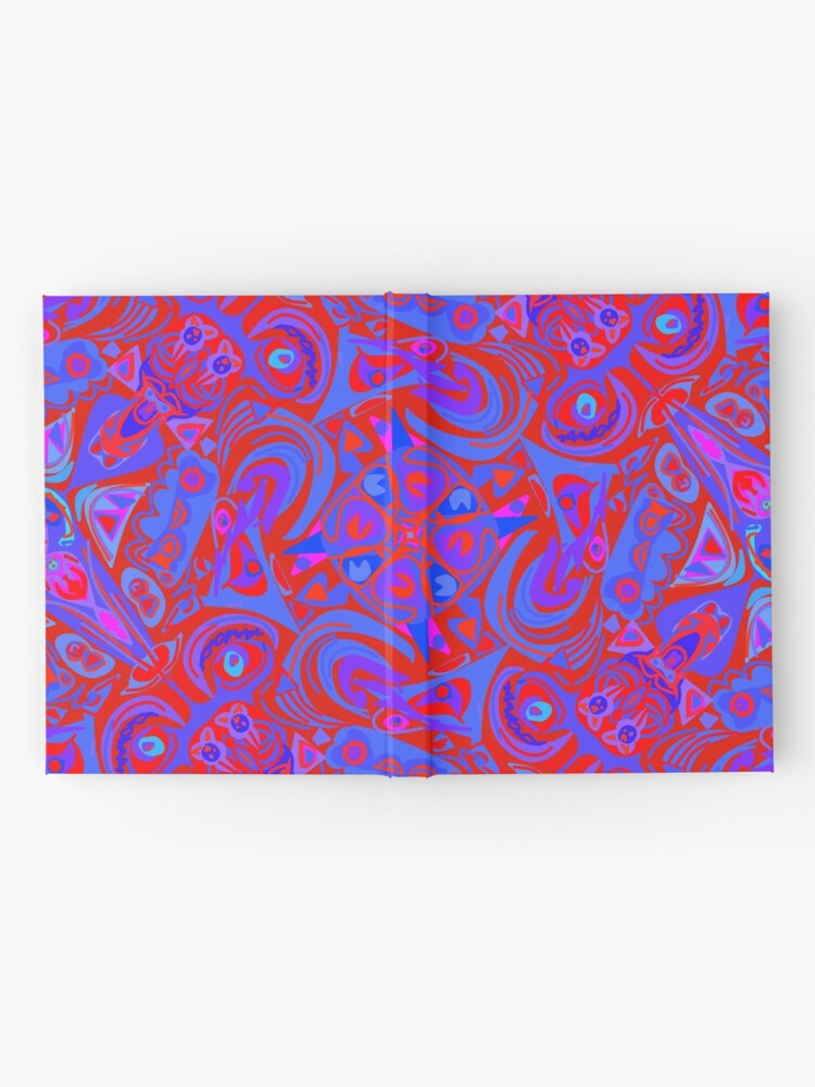 Alternate view of Hollywood Red Light & Blue Hardcover Journal