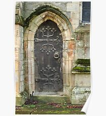 East Church Door Poster