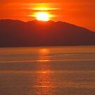 Reflections of the Sunset - Reflecciones de la Puesta del Sol by PtoVallartaMex