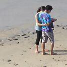 Young Couple at the Beach - Pareja Joven en la Playa, Puerto Vallarta, Mexico by PtoVallartaMex