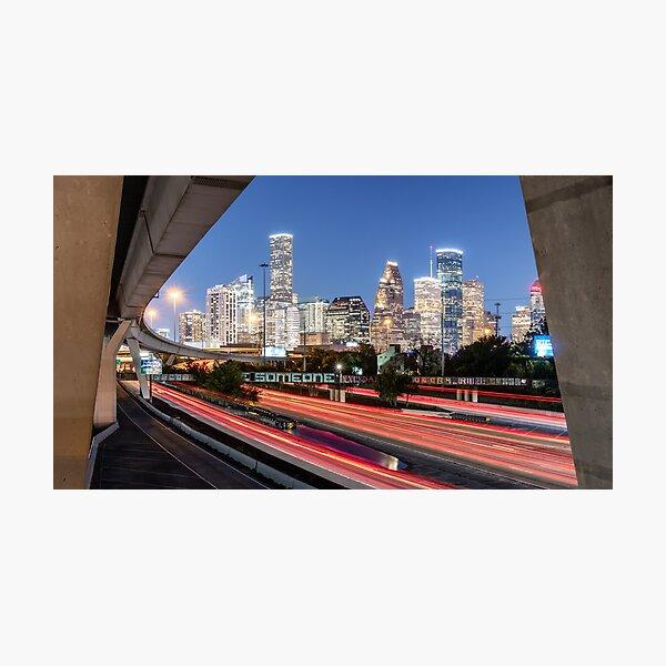 "Houston's iconic ""Be Someone"" Photographic Print"