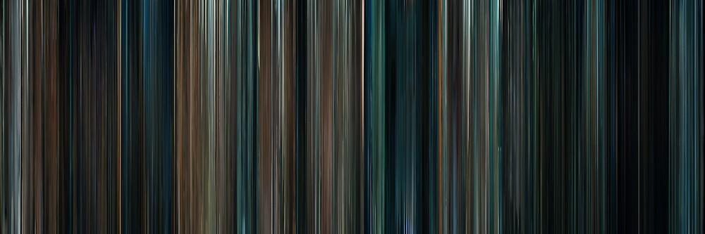 Moviebarcode: Super 8 (2011) by moviebarcode