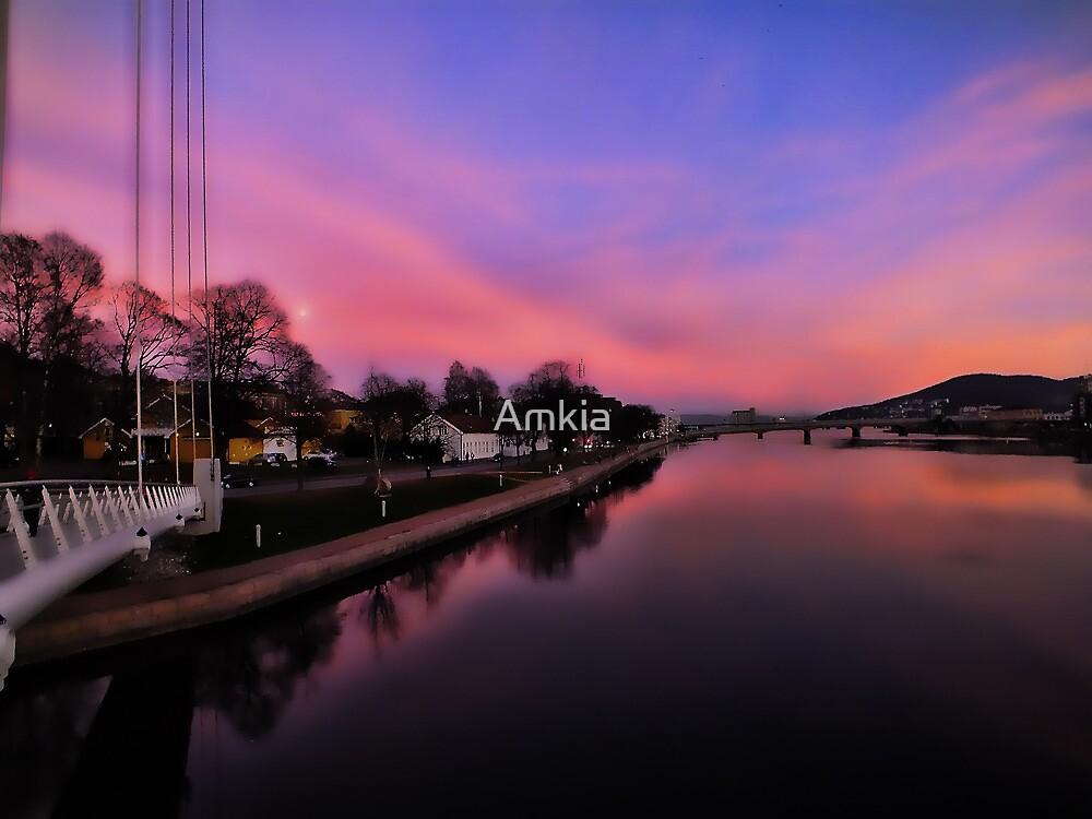 PinkSky by Amkia