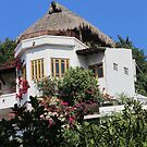 Upper Part of a House in the Gringo Gulch, Puerto Vallarta, Mexico by PtoVallartaMex