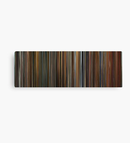 Moviebarcode: Ocean's Trilogy (2001-2007) Canvas Print