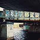 Train bridge at BU by apsjphotography