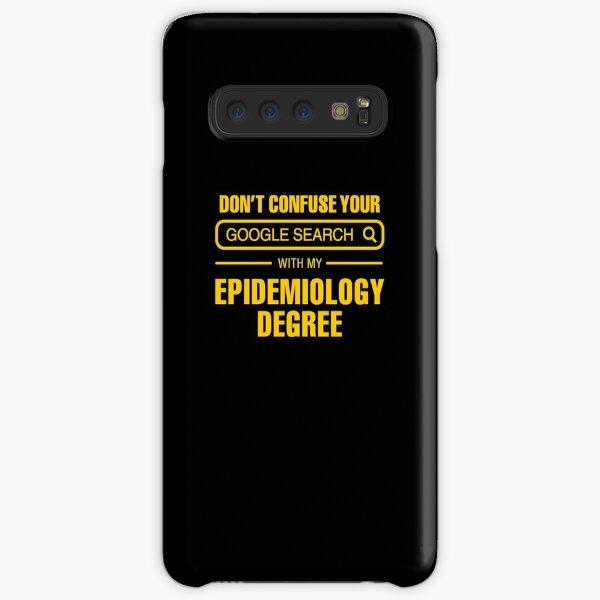 Epidemiology Degree vs Google Search Samsung Galaxy Snap Case