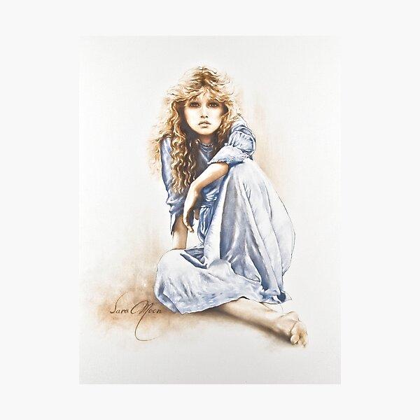 Hippy Girl Photographic Print