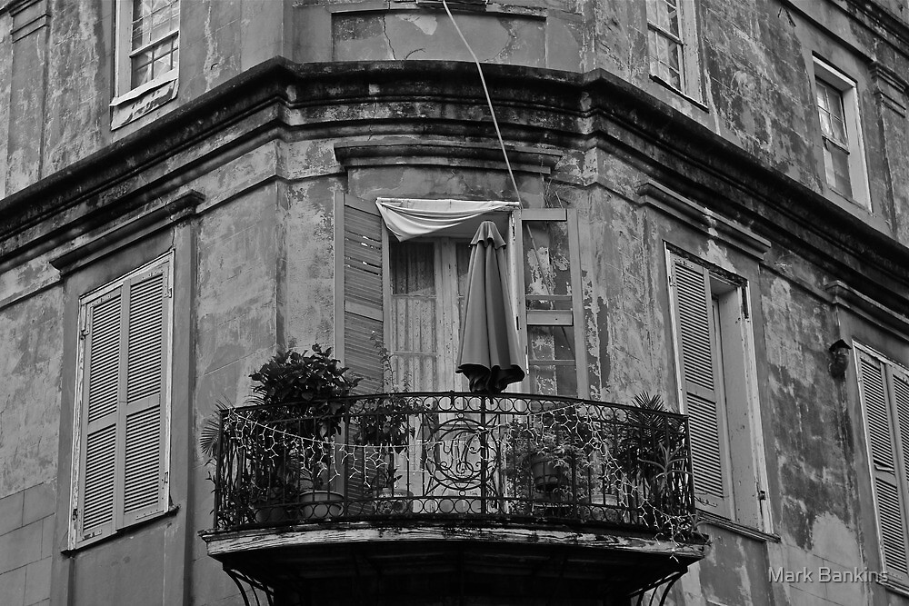 French Quarter Balcony by Mark Bankins