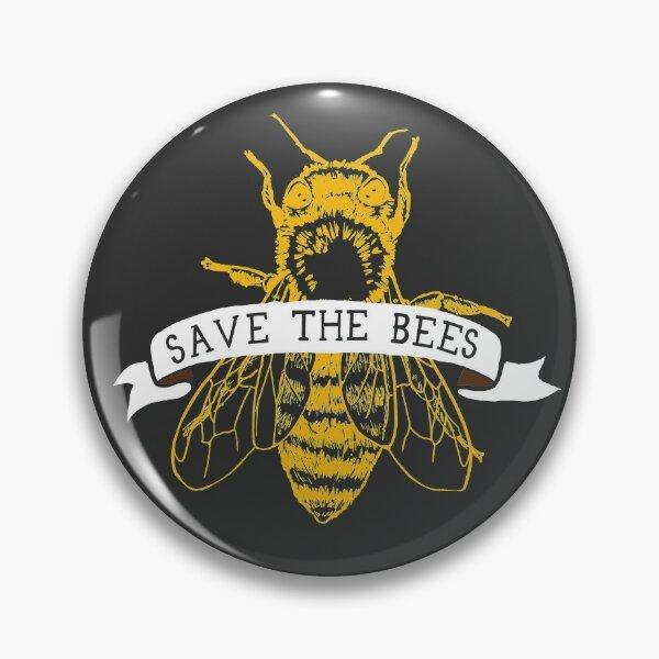 Save The Bees! (Dark) Pin