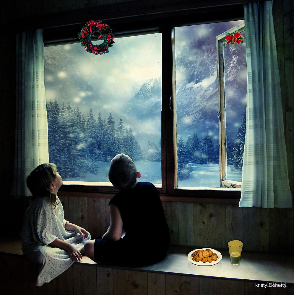 Waiting for santa by 1chick1