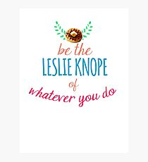 Team Leslie Knope Photographic Print