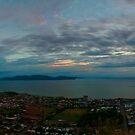 Dawn Over The Bay by Stephen  Nicholson