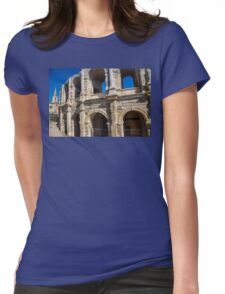 France. Arles. Amphitheatre. Womens Fitted T-Shirt