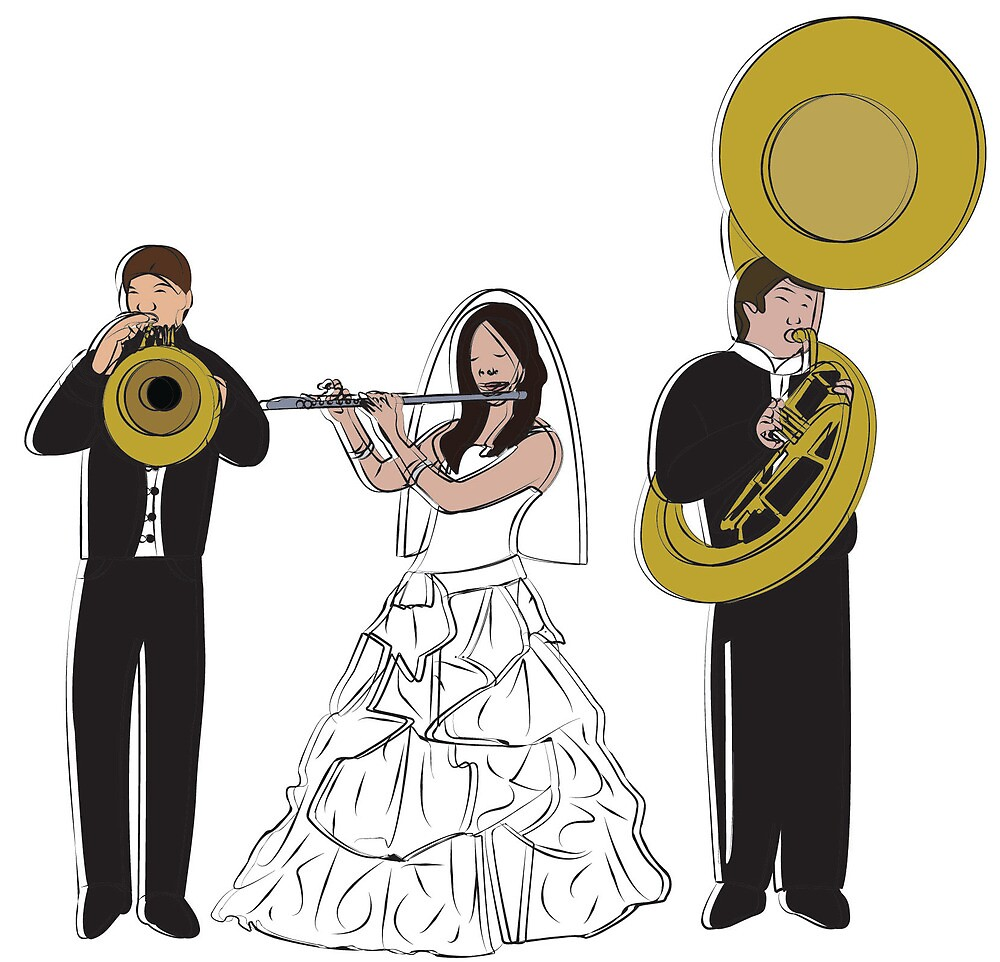 Wedding band by jazmyn green