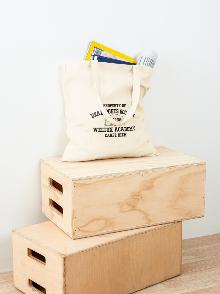 Alternate view of Dead Poets Society Tote Bag
