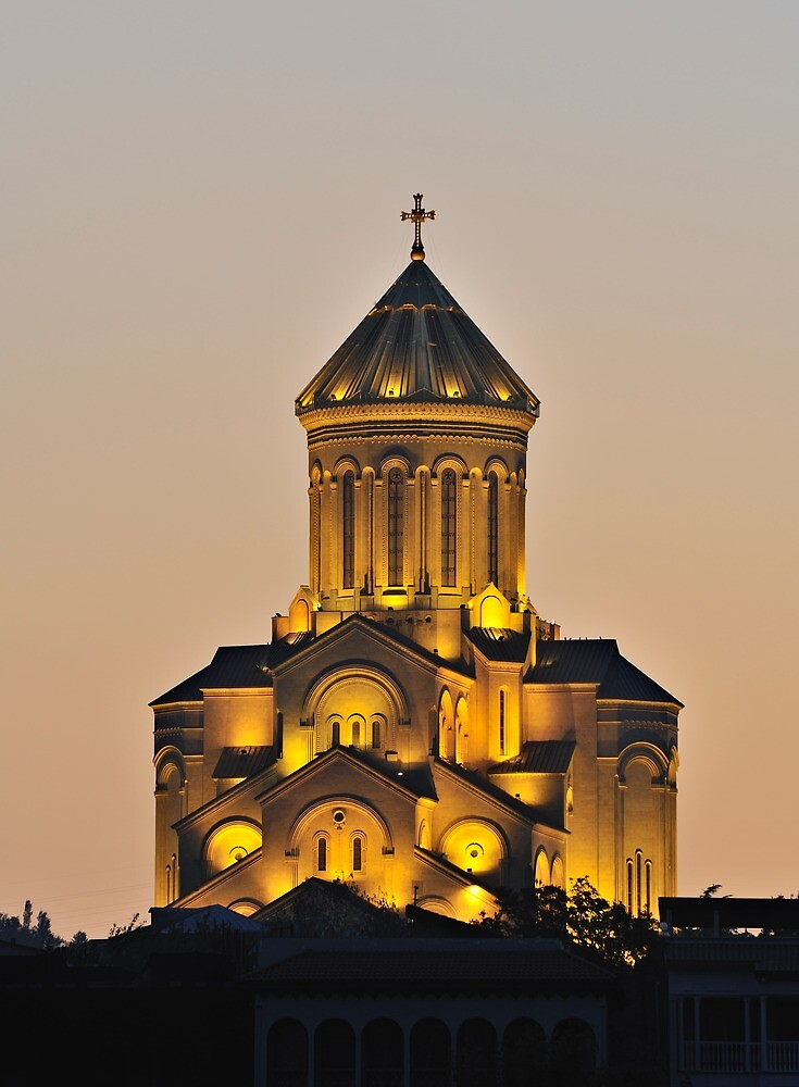 Tbilisi Cathedral by Kasia Nowak