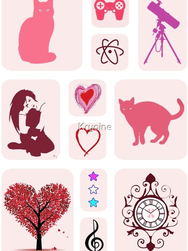My Hobbies by Kryoine