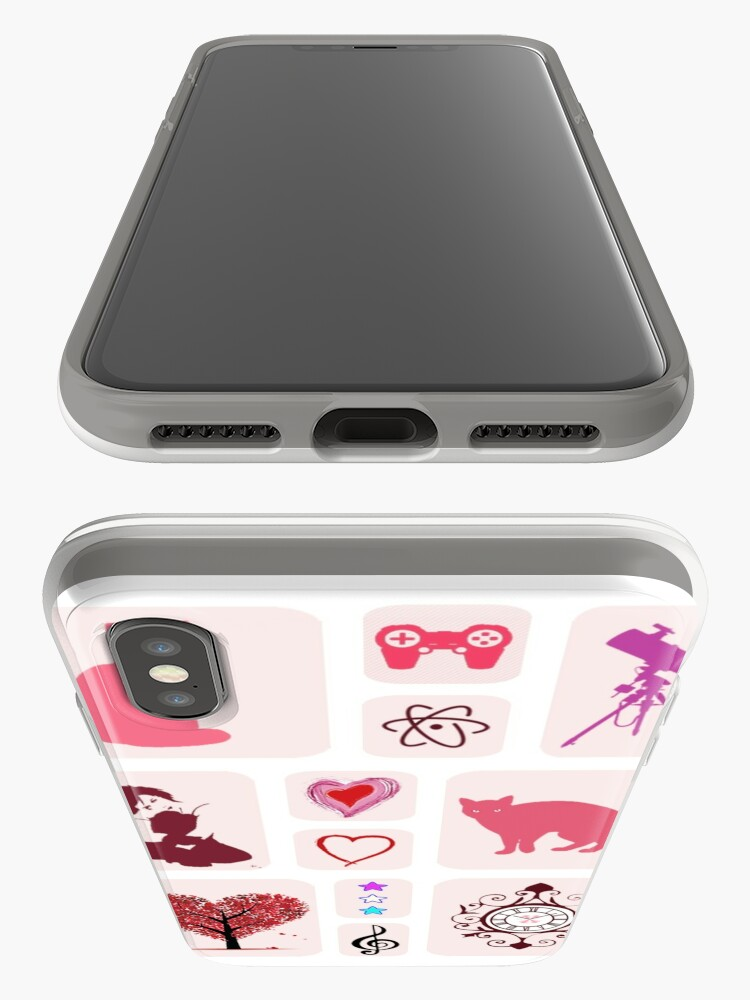 Alternate view of My Hobbies iPhone Cases & Covers