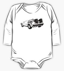 Back to the Future - Delorean One Piece - Long Sleeve