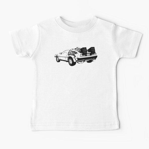 Retour vers le futur - Delorean T-shirt bébé
