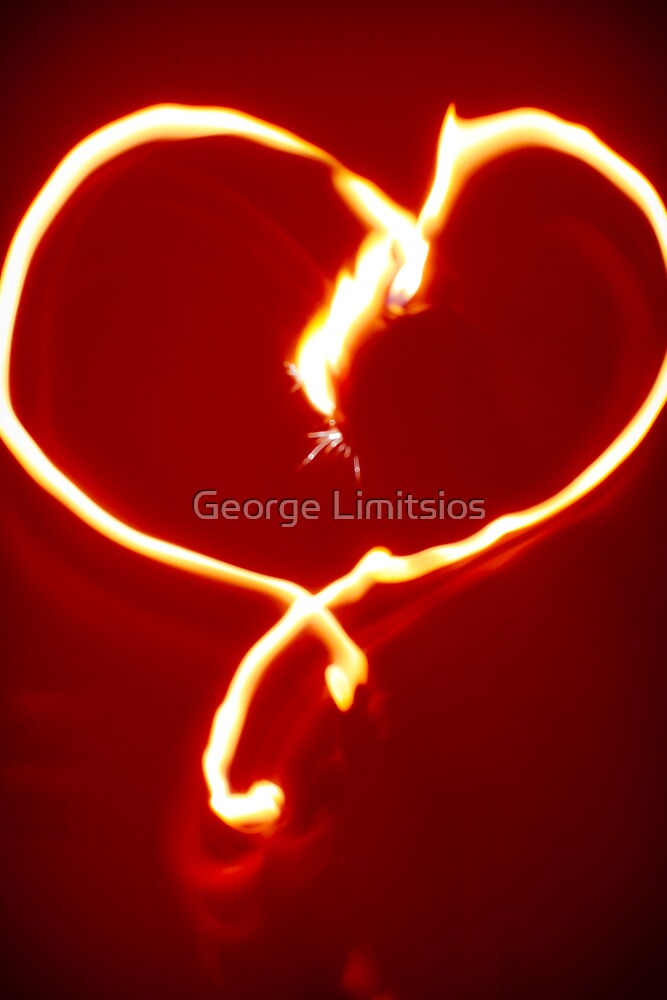 Heart of fire by George Limitsios