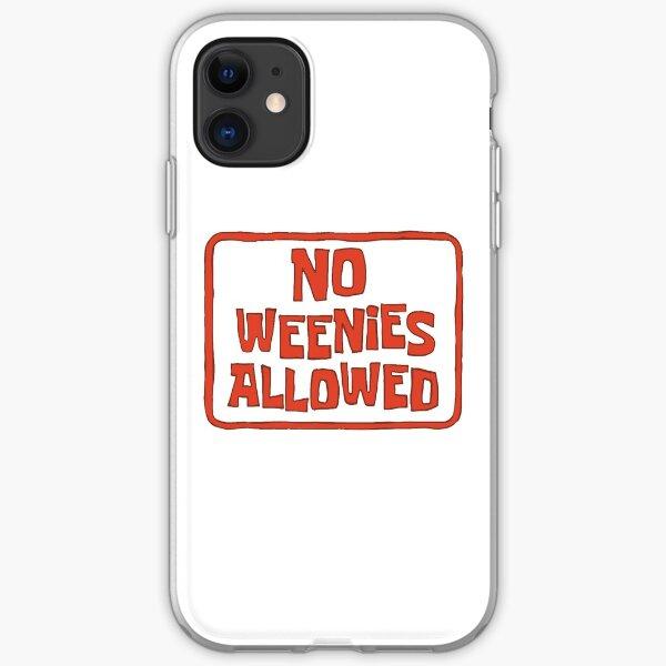 No Weenies Allowed - Spongebob iPhone Soft Case