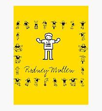 I LOVE SKATEBOARD - Rodney Mullen Photographic Print