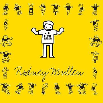 I LOVE SKATEBOARD - Rodney Mullen by 360fun