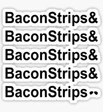 Bacon Strips Sticker