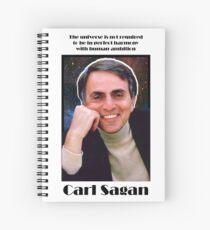 Carl Sagan Collection Spiral Notebook