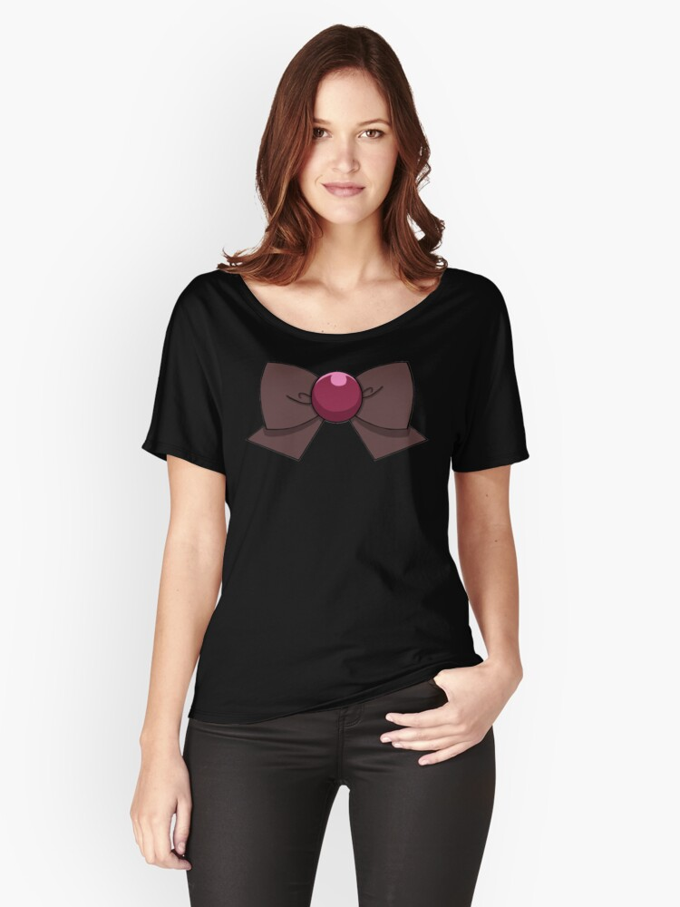 Pluto Bow Women's Relaxed Fit T-Shirt Front
