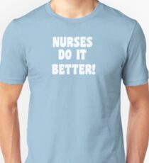 Robert Plant - Nurses Do It Better! Slim Fit T-Shirt