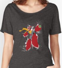 Protoman Splattery Shirt or Hoodie - Any Color Women's Relaxed Fit T-Shirt