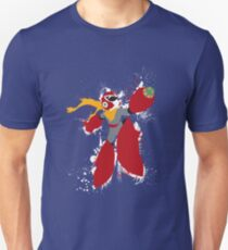 Protoman Splattery Shirt or Hoodie - Any Color T-Shirt