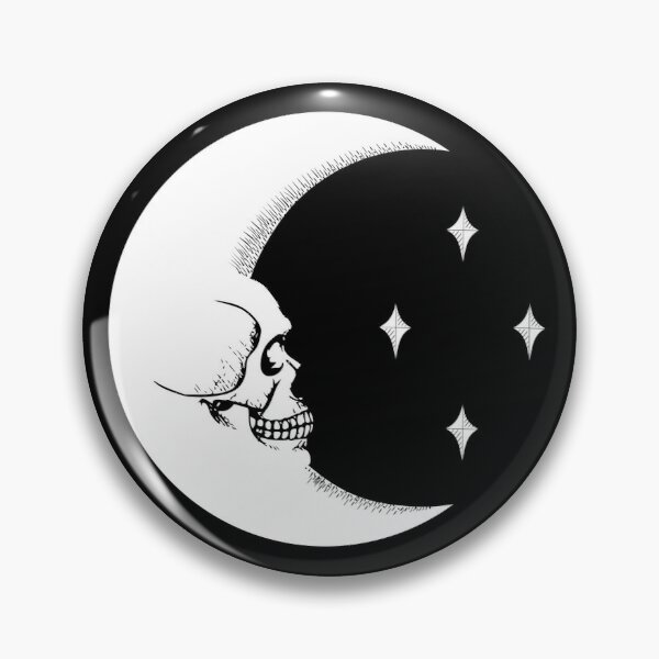 Phases Moon Love Lunar Nature Enamel Pin Witchcraft Handmade Witch Magic Occult Friends Night Black Crescent Not A Phase