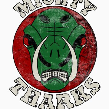 Mighty Tharks by PlaysWithWolves